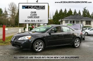 Used 2008 Pontiac G6 SE, 141,000 kms, Alloy Wheels, No Accidents, Clean for sale in Surrey, BC