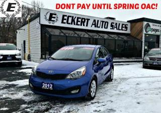 Used 2012 Kia Rio LX WITH BLUETOOTH for sale in Barrie, ON