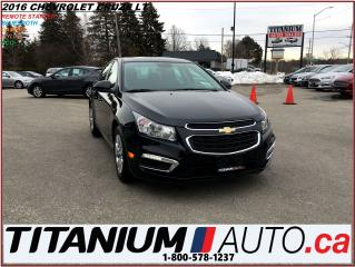 Used 2016 Chevrolet Cruze LT+Camera+Remote Start+Traction & Cruise Control++ for sale in London, ON