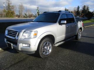 Used 2010 Ford Explorer Sport Trac LIMITED for sale in Surrey, BC