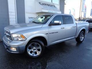 Used 2011 Dodge Ram 1500 Laramie Crew 4x4 Nav, Sunroof, Leather, One Owner for sale in Langley, BC