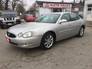 Used 2006 Buick Allure CXS/1 Owner/LOW KM/Leather/Roof/LOADED/Certified for sale in Scarborough, ON
