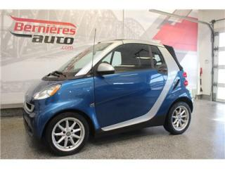 Used 2008 Smart fortwo PASSION CONVERTIBLE for sale in Saint-nicolas, QC