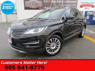 Used 2015 Lincoln MKC AWD, BLINDSPOT, COOLED SEATS, NAV, PANORAMIC ROOF for sale in St Catharines, ON