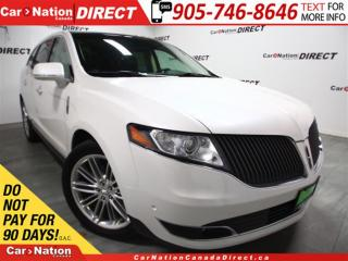 Used 2014 Lincoln MKT EcoBoost| AWD| LEATHER| NAVI| DUAL SUNROOF| for sale in Burlington, ON