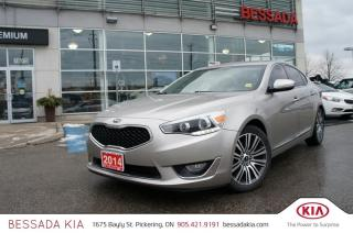 Used 2014 Kia CADENZA LX at for sale in Pickering, ON