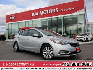 Used 2014 Kia Forte LX+| B/TOOTH | HTD SEATS & WHEEL | ECO | 80K | B/T for sale in Georgetown, ON