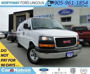 Used 2016 GMC Savana 3500 LT | SEATS 15 | EXTENDED | TOW PKG | RARE | for sale in Brantford, ON