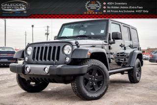 Used 2016 Jeep Wrangler Unlimited Sport|4x4|Hard top|Bluetooth|Pwr Windows|Pwr Locks|Keyless Entry|17