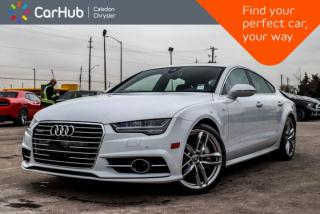Used 2017 Audi A7 3.0T Technik|Quattro|Only 10187 KM|Navi|Sunroof|Backup Cam|Bluetooth|Leather|19