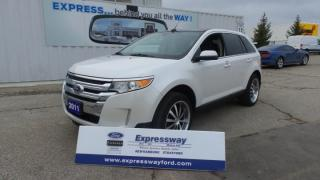 Used 2011 Ford Edge Limited AWD 285hp Leather, Pano Roof, Navi for sale in Stratford, ON