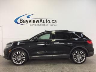Used 2016 Lincoln MKX - AWD|REM STRT|PANOROOF|BLIS|ADAP CRUISE|SYNC! for sale in Belleville, ON