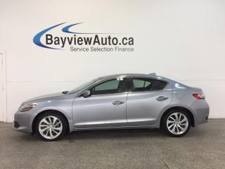 Used 2016 Acura ILX - TURBO|REM STRT|LTHR|ADAP CRUISE|FCW|REV CAM! for sale in Belleville, ON