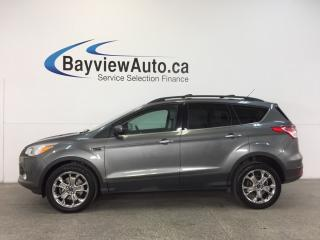 Used 2014 Ford Escape SE- 4WD|ECOBOOST|HITCH|HTD LTHR|NAV|SYNC! for sale in Belleville, ON