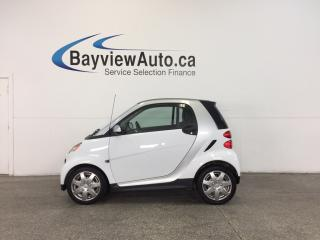 Used 2013 Smart fortwo - 23,200 KM! A/C! BLUETOOTH! BUDGET BUDDY! for sale in Belleville, ON