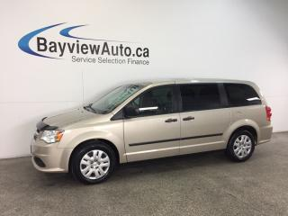 Used 2015 Dodge Grand Caravan - 3.6L! ECO MODE! DUAL CLIMATE! CRUISE! for sale in Belleville, ON