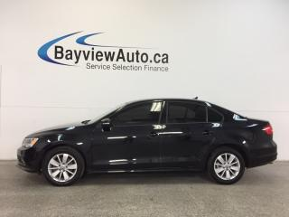 Used 2015 Volkswagen Jetta - TURBO|ALLOYS|TINT|PUSH BTN STRT|HTD STS|REV CAM! for sale in Belleville, ON
