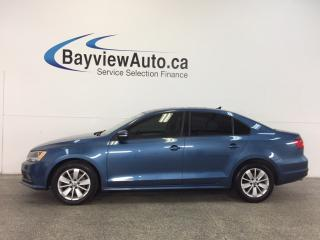 Used 2015 Volkswagen Jetta TRENDLINE- TDI|TINT|PUSH BTN STRT|HTD STS|REV CAM! for sale in Belleville, ON
