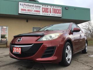Used 2010 Mazda MAZDA3 GX $113.12 BI WEEKLY! $ 0 DOWN! CERTIFIED! for sale in Bolton, ON