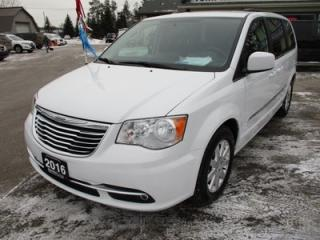 Used 2016 Chrysler Town & Country LOADED FAMILY MOVING 7 PASSENGER 3.6L - V6.. CAPTAINS.. STOW-N-GO.. ECON-BOOST.. POWER DOORS & WINDOWS.. BLUETOOTH SYSTEM.. BACK-UP CAMERA.. for sale in Bradford, ON