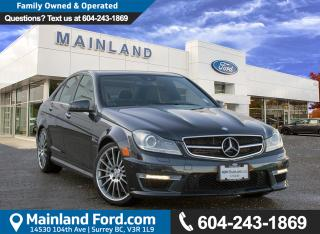 Used 2012 Mercedes-Benz C-Class LOW KMS, LOCAL for sale in Surrey, BC
