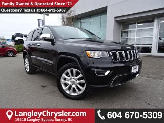 Used 2017 Jeep Grand Cherokee Limited *ACCIDENT FREE* V8 HEMI ENGINE*LOCAL BC JEEP* for sale in Surrey, BC