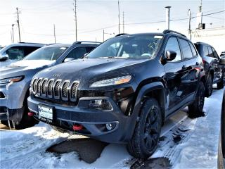 Used 2018 Jeep Cherokee Trailhawk Leather Plus|4X4|BACKUP CAM|KEYLESS for sale in Concord, ON