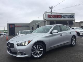 Used 2015 Infiniti Q50 AWD - NAVI - 360 CAMERA - LEATHER for sale in Oakville, ON