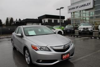 Used 2015 Acura ILX Premium at for sale in Langley, BC
