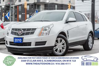 Used 2010 Cadillac SRX AWD PanoRoof DVD Bluetooth for sale in Scarborough, ON