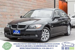 Used 2007 BMW 3 Series 328i Sunroof Leather Bluetooth All Original for sale in Scarborough, ON