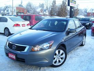 Used 2008 Honda Accord EX-L,V Tech,Leather,Sunroof, Alloys for sale in Kitchener, ON