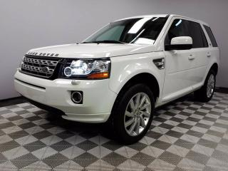 Used 2013 Land Rover LR2 HSE - CPO 6yr/160000kms manufacturer warranty included until August 18, 2019! CPO rates starting at 0.9%! Local Canadian Leaseback | Touchscreen Media Centre | Navigation | Parking Sensors | Back Up Camera | HID Headlamps | Heated Windshield with Rain Sen for sale in Edmonton, AB