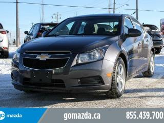 Used 2011 Chevrolet Cruze LT Turbo POWER OPTIONS LOW MILEAGE for sale in Edmonton, AB