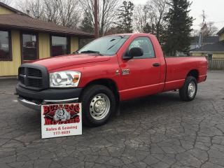Used 2007 Dodge Ram 2500 ST for sale in Glencoe, ON