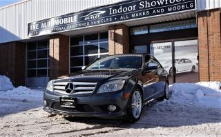 Used 2009 Mercedes-Benz C 300 3.0L C-CLASS 4MATIC AWD NAVI NO ACCIDENT for sale in Mississauga, ON