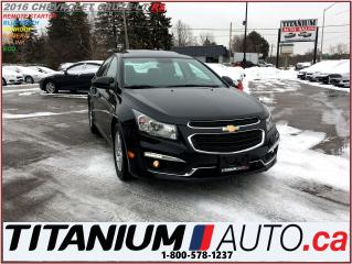 Used 2016 Chevrolet Cruze LT-RS+Camera+Sunroof+Remote Starter+Pioneer Sound+ for sale in London, ON