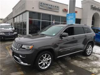 Used 2015 Jeep Grand Cherokee Summit..V8. Roof/Leather for sale in Burlington, ON