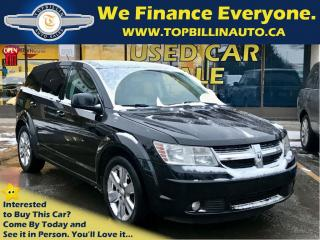Used 2009 Dodge Journey SXT 7 Paasenger, 2 Years Warranty for sale in Concord, ON