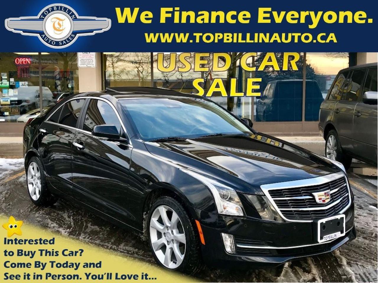2015 Cadillac ATS 4 AWD Performance, Navi, Sunroof, Camera