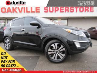Used 2013 Kia Sportage EX Luxury | LEATHER | PANO ROOF | B/U CAM | A/C for sale in Oakville, ON