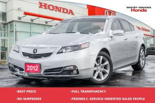Used 2012 Acura TL w/Technology Pkg | Automatic for sale in Whitby, ON