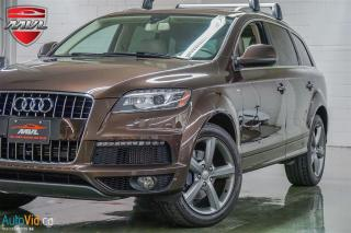 Used 2015 Audi Q7 TDI Vorsprung Edition 7-Pass for sale in Oakville, ON