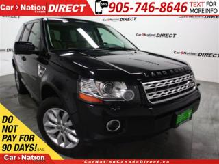Used 2013 Land Rover LR2 | 4X4| LEATHER| DUAL SUNROOF| PUSH START| for sale in Burlington, ON