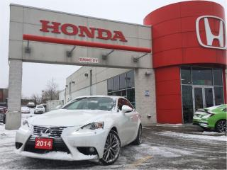 Used 2014 Lexus IS 250 Base, navi, black leather, clean carproof for sale in Scarborough, ON