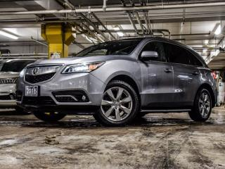 Used 2016 Acura MDX Elite Accident Free|DVD|360 Camera|GPS for sale in Thornhill, ON