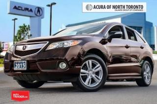 Used 2015 Acura RDX at Clean Carproof| Back-Up Camera|Leather for sale in Thornhill, ON