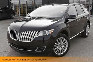 Used 2013 Lincoln MKX AWD 1 Owner Nav Panoramic Roof for sale in Winnipeg, MB