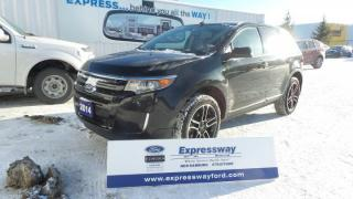 Used 2014 Ford Edge SEL Sport 3.5L V6 285hp Leather, Navi, Moon for sale in Stratford, ON
