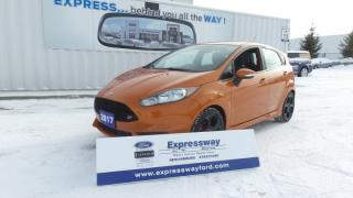 Used 2017 Ford Fiesta ST   Pound for Pound BEST HOT HATCH to DRIVE for sale in Stratford, ON